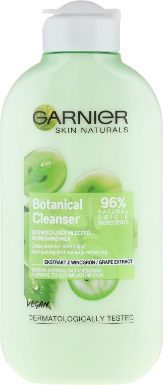 """Lăptișor demachiant """"Extract de struguri"""" - Garnier Skin Naturals Botanical Grape Extract Cleanser Milk"""