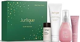 Parfumuri și produse cosmetice Set - Jurlique Mini Face Treats Set (essence/10ml + f/foam/20g + f/mist/30ml + f/ser/5ml)