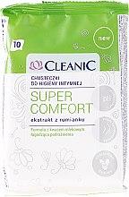 Parfumuri și produse cosmetice Şerveţele pentru igiena intimă - Cleanic Super Comfort Wipes