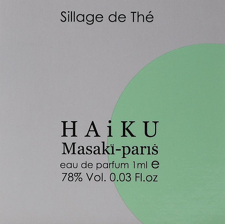 Masaki Matsushima Haiku Sillage de The - Apă de parfum (tester)