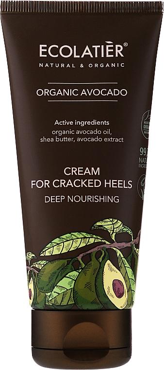 Cremă pentru călcâie crăpate - Ecolatier Organic Avocado Cream For Cracked Heels