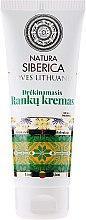 Parfumuri și produse cosmetice Cremă hidratantă pentru mâini - Natura Siberica Loves Lithuania Moisturizing Hand Cream