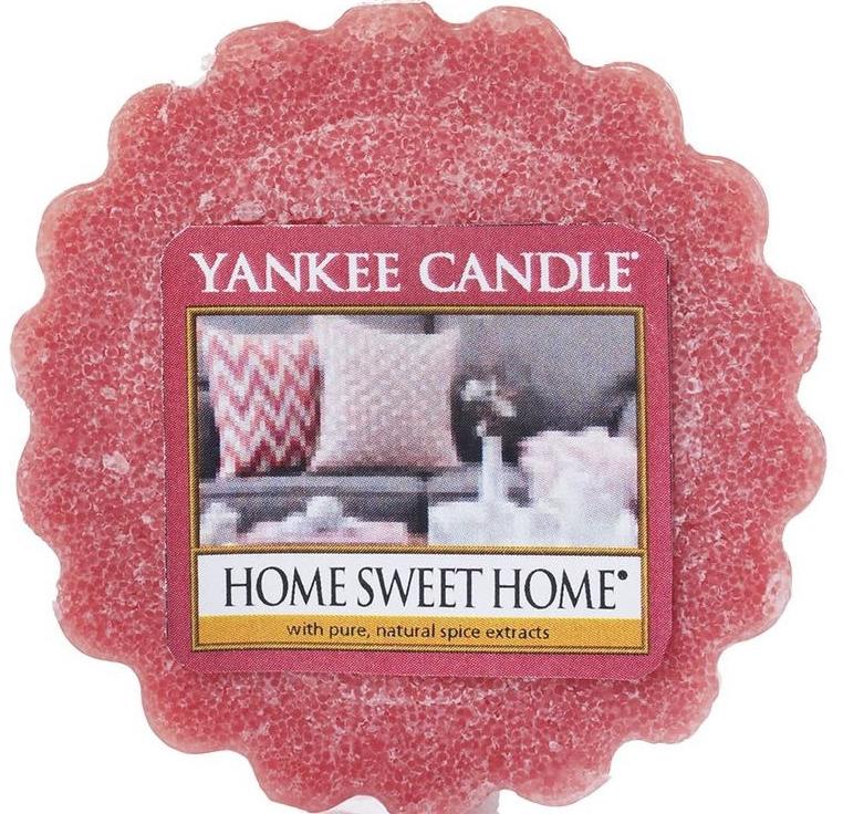 Ceară aromată - Yankee Candle Home Sweet Home Tarts Wax Melts — Imagine N1