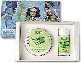 Parfumuri și produse cosmetice Set - Styx Naturcosmetic Aloe Vera (sh/gel/30ml + cr/50ml)