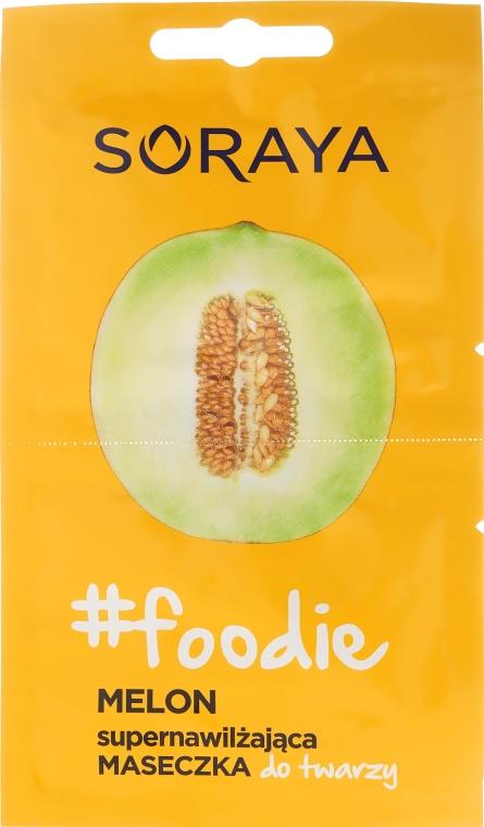Mască de față cu extract de pepene galben - Soraya Foodie Melon Super-Hydrating Face Mask