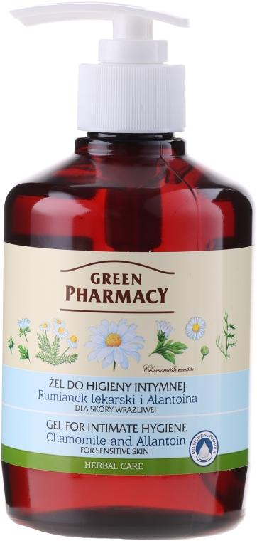 Gel cu mușețel și alantoină pentru igiena intimă - Green Pharmacy