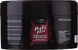 Духи, Парфюмерия, косметика Peeling pentru corp și mâini - Apis Professional Night Fever Peelling For Body, Hand And Foot