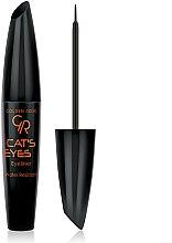 Parfumuri și produse cosmetice Eyeliner - Golden Rose Cat's Eyes Eyeliner