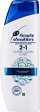 Parfumuri și produse cosmetice Şampon pentru păr - Head & Shoulders Clasic Clean 2in1 Shampoo