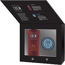Parfumuri și produse cosmetice Set - American Crew Grooming Kit (shm/250ml + fiber/85ml)