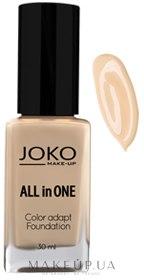 Fond de ten - Joko All In One Foundation — Imagine 110 - Pastel