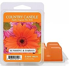 Parfumuri și produse cosmetice Ceară pentru lampă aromată - Country Candle Sunshine & Daisies Wax Melts