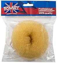Духи, Парфюмерия, косметика Валик для прически, 11х4.5 см, бежевый - Ronney Professional Hair Bun
