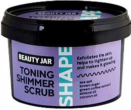 Parfumuri și produse cosmetice Scrub tonifiant pentru corp - Beauty Jar Toning Shimmer Scrub