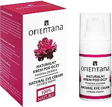 Parfumuri și produse cosmetice Cremă pentru pleoape - Orientana Bio Eye Cream Regenerating & Rejuvenating