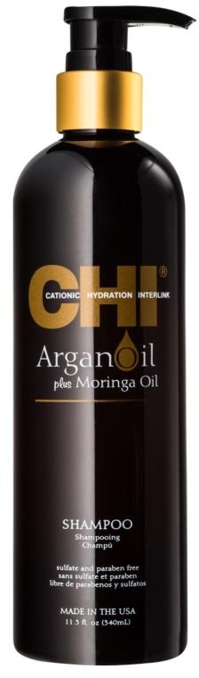 Şampon regenerant - CHI Argan Oil Plus Moringa Oil Shampoo