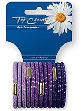 Parfumuri și produse cosmetice Elastice de păr 12 bucăți, 21312 - Top Choice
