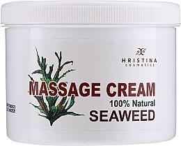 Духи, Парфюмерия, косметика Cremă cu extract de alge pentru masaj - Hristina Cosmetics Seaweed Massage Cream
