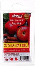 """Parfumuri și produse cosmetice Ceară pentru lampa de aromă """"Măr și scorțișoară"""" - Airpure Apple Cinnamon Wax Melts"""