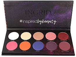 Parfumuri și produse cosmetice Paletă de farduri de ochi - Ingrid Cosmetics Colors Matt & Glam Palette