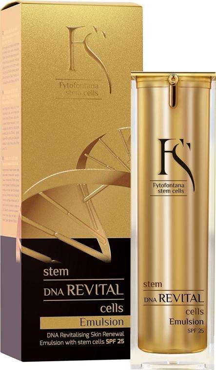 Emulsie anti-îmbătrânire pentru față - Fytofontana Stem Cells DNA Revital Emulsion SPF25 — Imagine N1