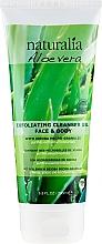 Parfumuri și produse cosmetice Scrub pentru corp - Naturalia Aloe Vera Exfoliating Cleanser Gel Face & Body