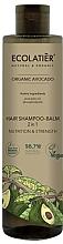 Parfumuri și produse cosmetice Șampon-balsam 2 în 1 - Ecolatier Organic Avocado Hair-Shampoo Balm