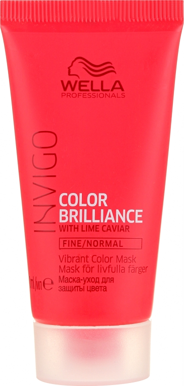 Mască de păr - Wella Professionals Invigo Color Brilliance Mask