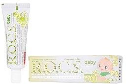 Parfumuri și produse cosmetice Pastă de dinți pentru copii, cu mușețel - R.O.C.S. Baby