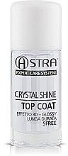 Parfumuri și produse cosmetice Top coat pentru oja semipermanentă - Astra Make-up Crystal Shine Top Coat