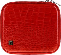 Духи, Парфюмерия, косметика Husă pentru instrumente de manichiură, CS-08, roșie - Staleks Case For Manicure Tools