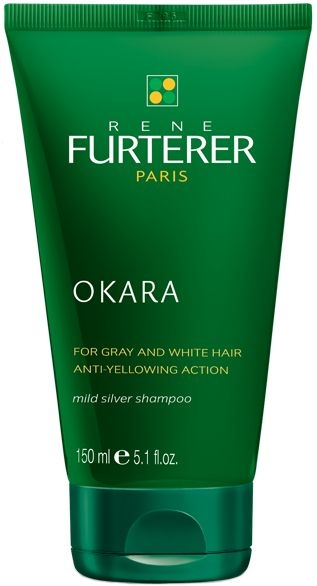 Șampon nuanțator pentru păr gri - Rene Furterer Okara Mild Silver Shampoo  — Imagine N1