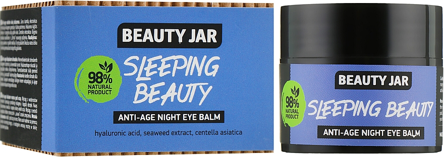 "Balsam anti-îmbătrânire pentru ochi ""Sleeping Beauty"" - Beauty Jar Anti-Age Night Eye Balm"