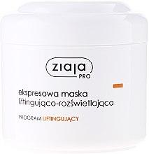 Parfumuri și produse cosmetice Express Mask de față pentru fermitate - Ziaja Pro Lifting Express Mask