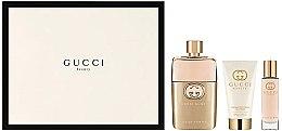 Parfumuri și produse cosmetice Gucci Guilty Pour Femme - Set (edp/90+ b/l/50 + edp/15)
