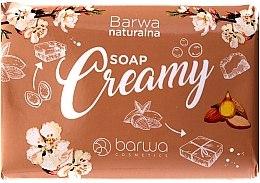 Parfumuri și produse cosmetice Săpun cremă cu ulei de migdale - Barwa Natural
