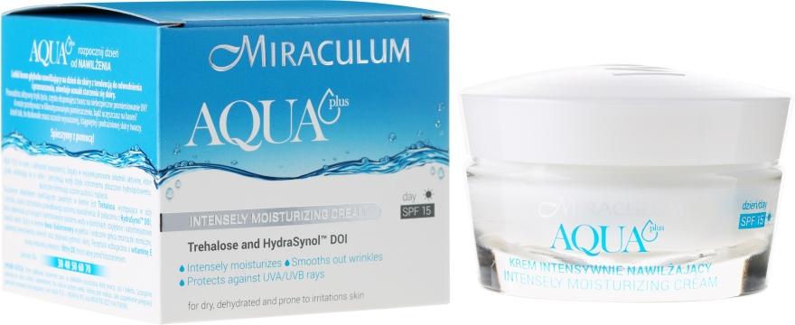 Cremă de zi intens hidratantă SPF 15 - Miraculum Aqua Plus SPF 15 — Imagine N1