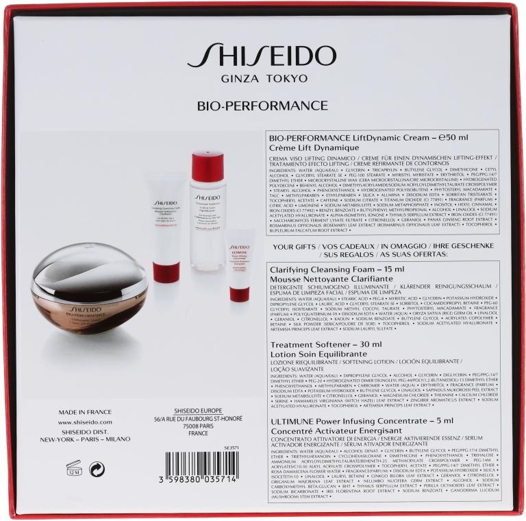 Set - Shiseido Bio Performance LiftDynamic Holiday Kit (cr/50ml + foam/15ml + f/lot/30ml + conc/5ml) — Imagine N2