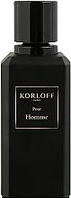 Parfumuri și produse cosmetice Korloff Paris Pour Homme - Apă de parfum (tester cu capac)