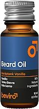 Parfumuri și produse cosmetice Ulei pentru barbă - Beviro Beard Oil Honkatonk Vanilla