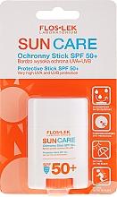 Parfumuri și produse cosmetice Cremă-stick cu protecție solară SPF50+ - Floslek Sun Care Protective Stick SPF50+