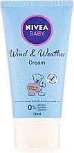 Parfumuri și produse cosmetice Cremă de protecție împotriva frigului și vântului - Nivea Baby Cold Protection Cream
