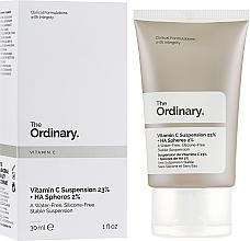 Parfumuri și produse cosmetice Ser cu 23% vitamina C și 2% acid hialuronic - The Ordinary Vitamin C Suspension 23% + HA Spheres 2%