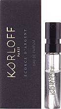 Parfumuri și produse cosmetice Korloff Paris Ecorce D'Argent - Apă de parfum (tester)