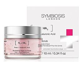 Parfumuri și produse cosmetice Scrub de zahăr pentru buze - Symbiosis London Revitalising Sugar Lip Scrub