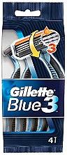 Parfumuri și produse cosmetice Set casete aparat de ras, 4 bucăți - Gillette Blue 3