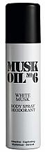 Parfumuri și produse cosmetice Gosh Muck Oil No.6 White Musk - Deodorant-spray