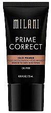 Parfumuri și produse cosmetice Primer pentru față - Milani Prime Correct Diffuses Discoloration + Pore-minimizing Face Primer Medium/Dark