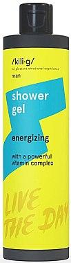 Gel de duș - Kili·g Man Energizing Shower Gel — Imagine N1