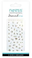 Parfumuri și produse cosmetice Nail Art Stickers, 3711 - Neess Diamondneess